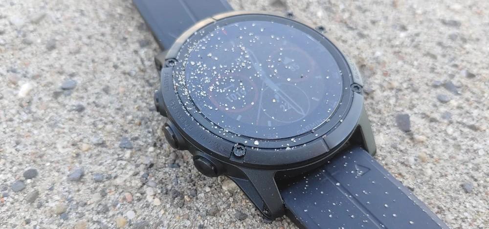 Zegarek do biegania Garmin ze szkłem Sapphire
