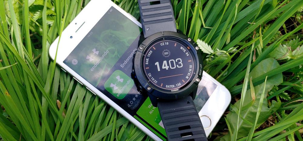 Podłączanie konta na Endomondo do zegarka Garmin Fenix 6x pro solar