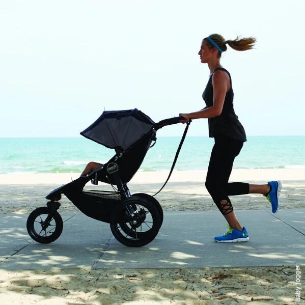 Wózek dziecięcy trzykołowy sportowy dla aktywnych rodziców